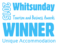 2015 Tourism and Business - Unique Accommodation winner