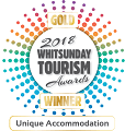 Australian Tourism Awards 2017 Silver Unique Accommodation
