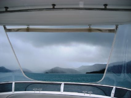 Even rain is beautiful in the Whitsundays