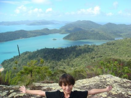 On top of Whitsunday Is