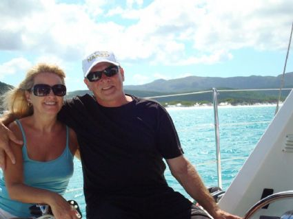 The Place of our Dreams- Passing Whitehaven Beach