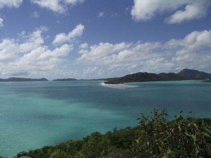 High tide at Hill Inlet