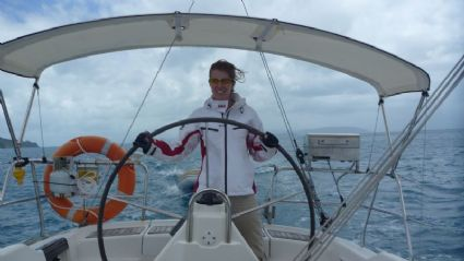 Windy crossing of the Whitsunday passage