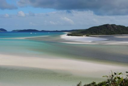 magnificent Whitehaven Beach