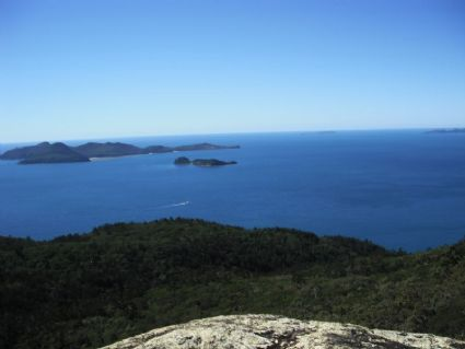 Whitsunday Cairn view to Border Island