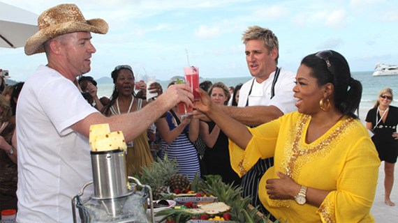 Oprah enjoys whitehaven