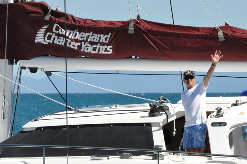 Cumberland Charter Yachts help out
