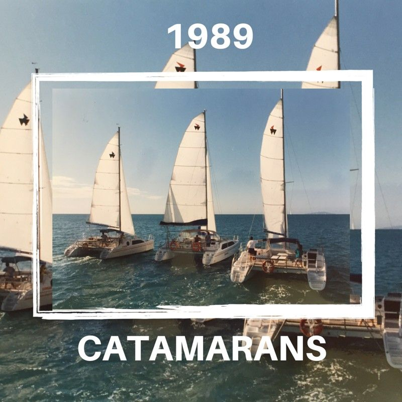 1st to Launch Catamarans to Bareboating in 1987 with Blue Famida