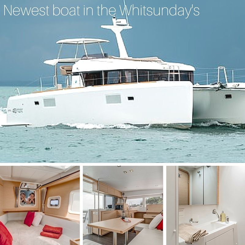Newest boat in Whitsundays