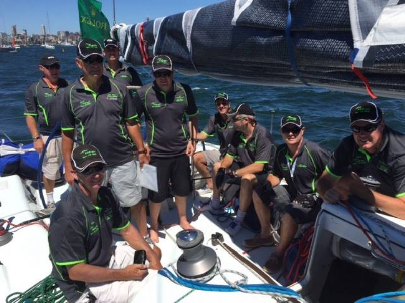 Sydney Hobart preparations