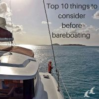 Our Top 10 Bareboating tips