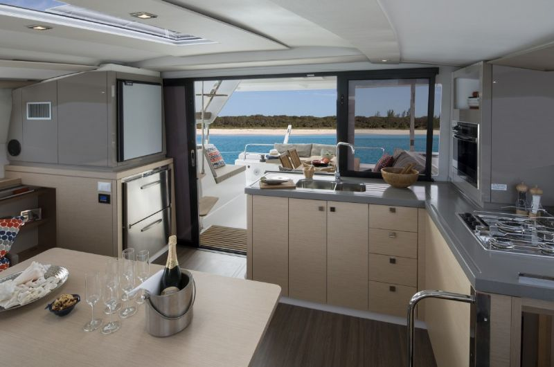 Galley Lucia 40