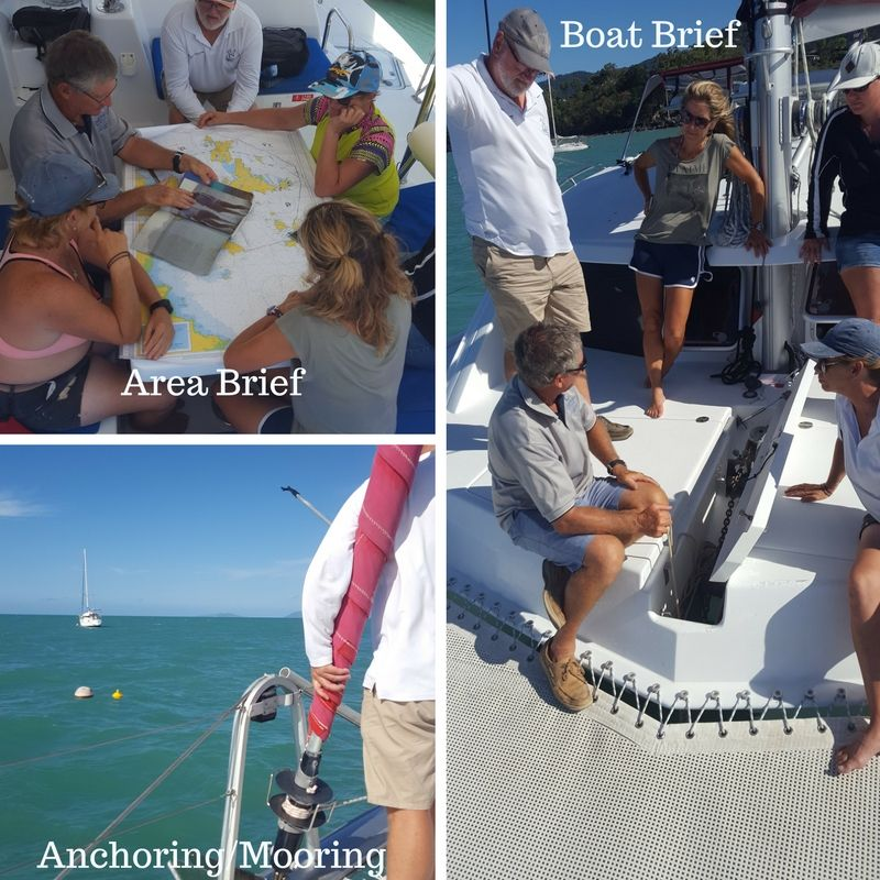 Whitsunday Charter Boat Briefing