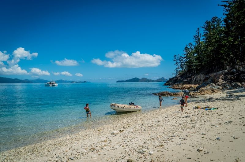Island Beach, Whitsundays