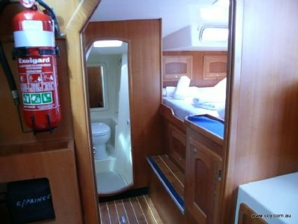 Port Forward Cabin and Ensuit