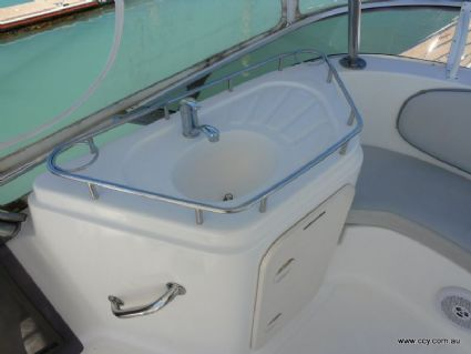 Sink on Flybridge