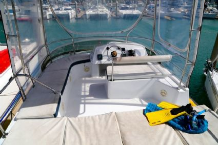 Flybridge Sun Bed