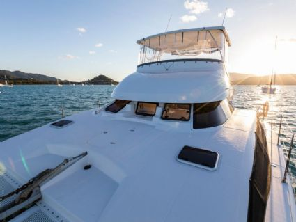 Charisma - Lightwave 38 Power Catamaran, TV in Saloon, Cumberland Charter Yachts Whitsundays