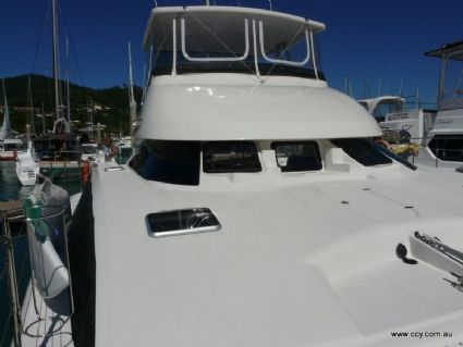 Foredeck and Flybridge