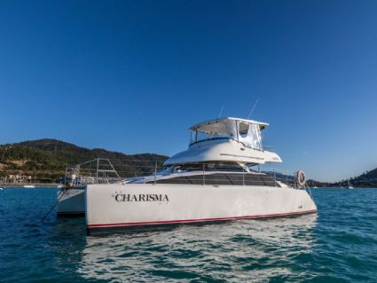 Charisma - Lightwave 38 Power Catamaran, Galley, Cumberland Charter Yachts Whitsundays