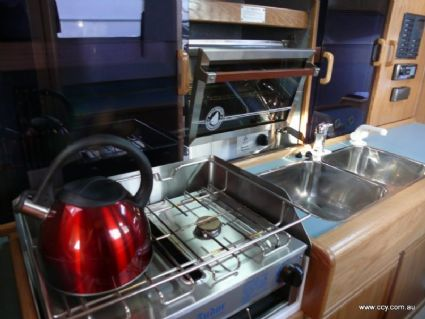Stove, Sink and Oven