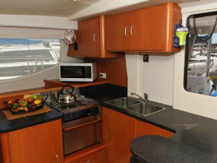 Galley and servery