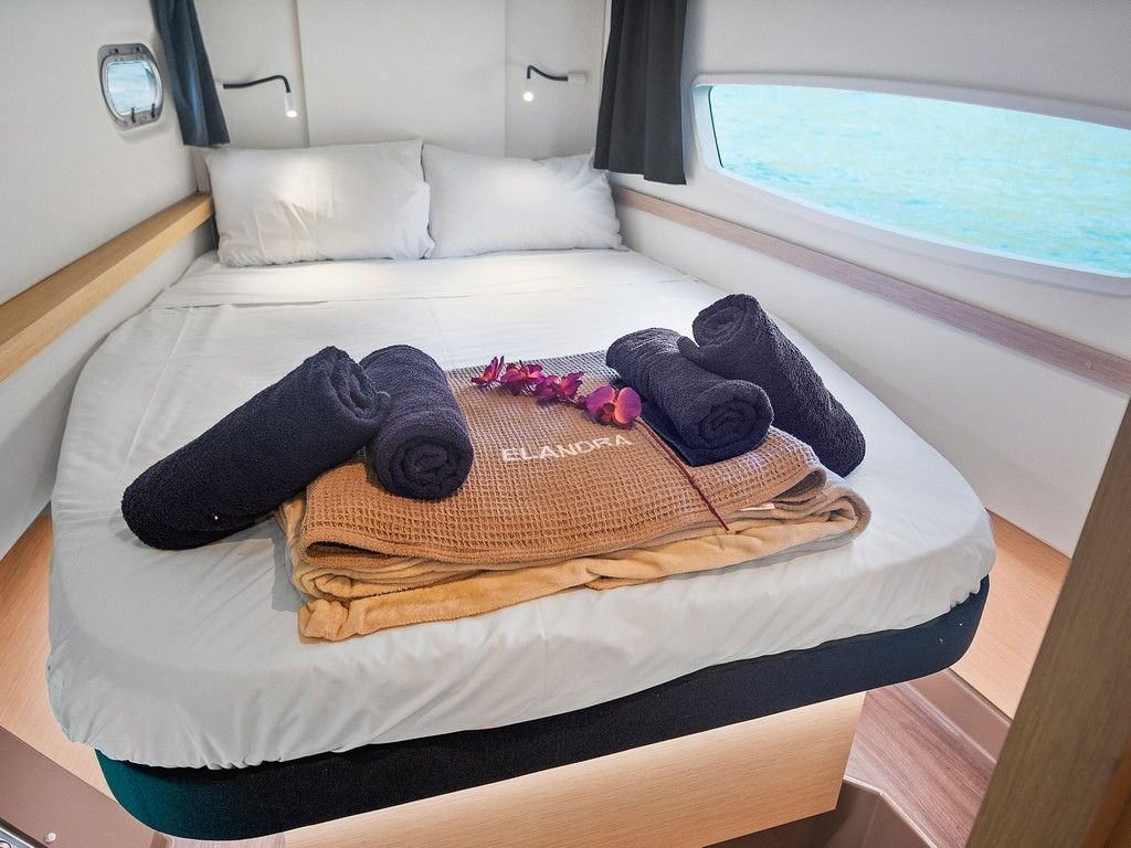 Helia 44 - Private double cabins (x 4)